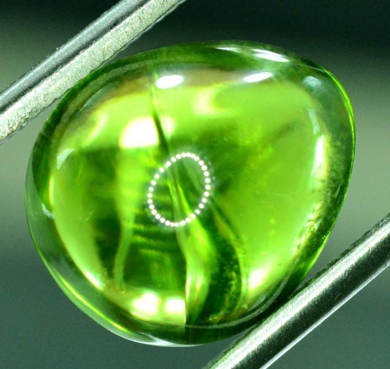 6.20 ct Natural Olivine Green Natural Peridot Cabochon