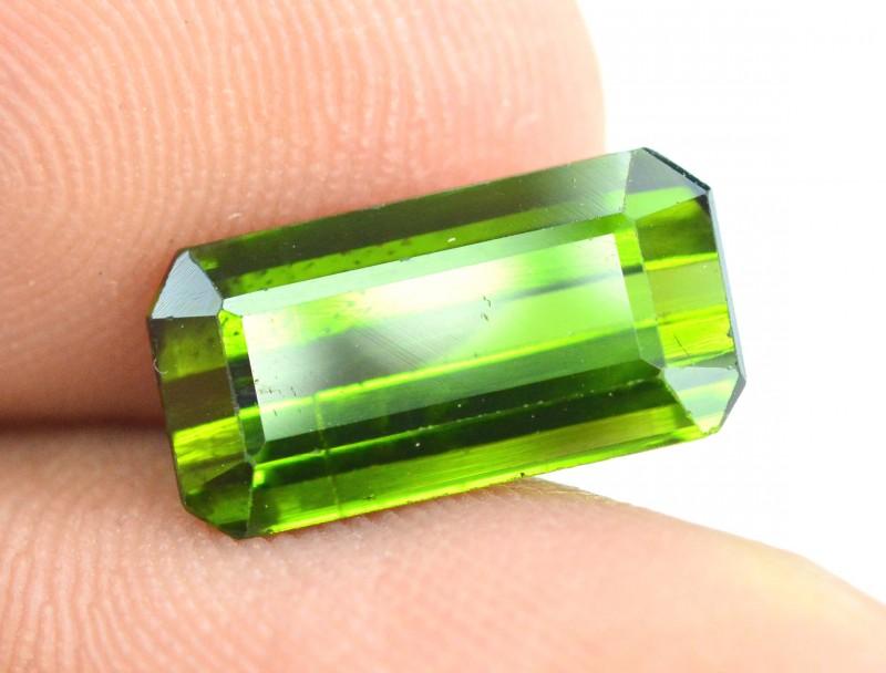 3.40 cts Green  color Afghan tourmaline gemstone
