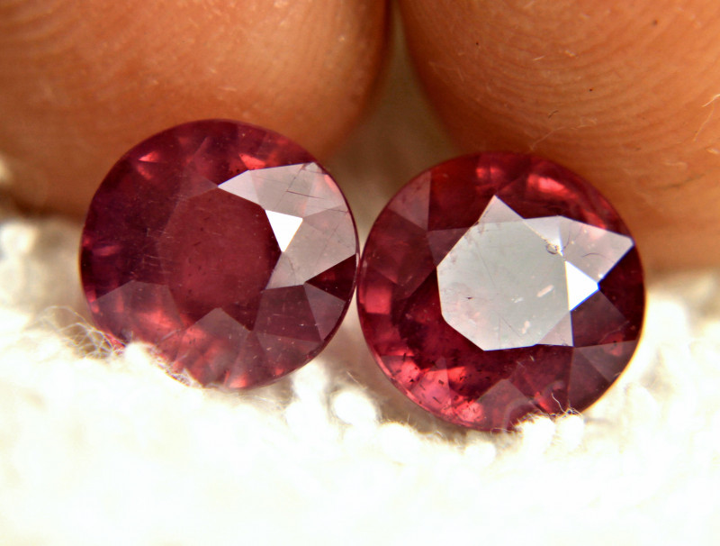 7.82 Tcw. Matched Rubies - Gorgeous