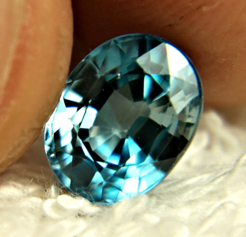 3.75 Carat VS London Blue Zircon - Superb