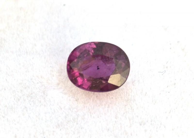 1.250 ct Purple Tourmaline     JC