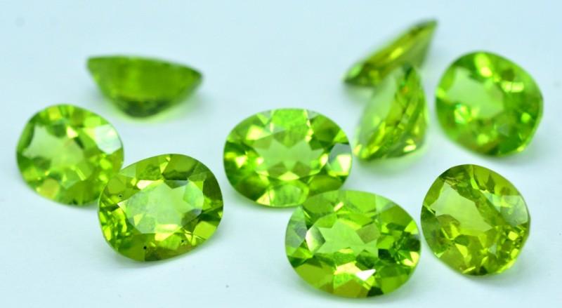 17.35 cts Natural Peridot Loose Gemstone Lot from Pakistan