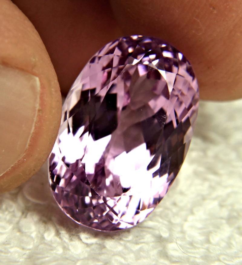 22.90 Carat Purple / Pink VVS Himalayan Kunzite - Superb