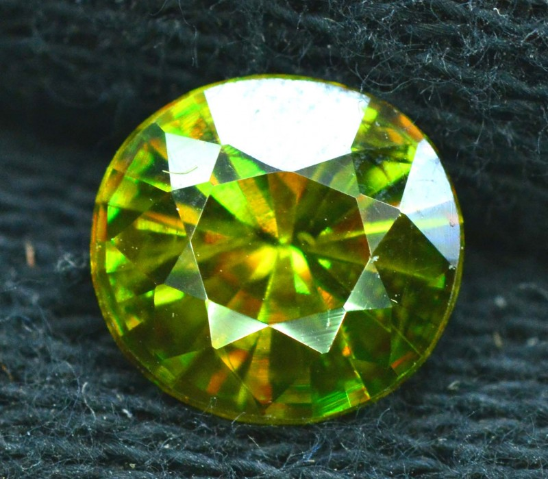 1.70 carats AAA Color Full Fire Natural Chrome Sphene from Pakistan