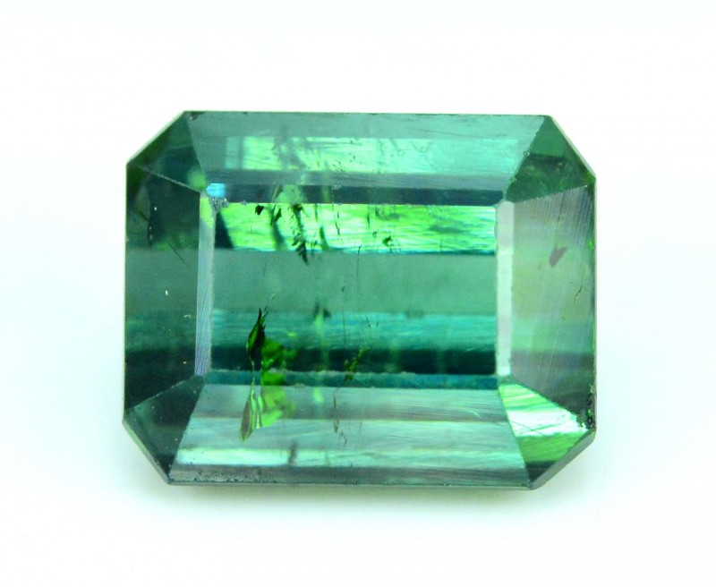 3.10 cts Neon Green Afghan Tourmaline Gemstone From Aghanistan