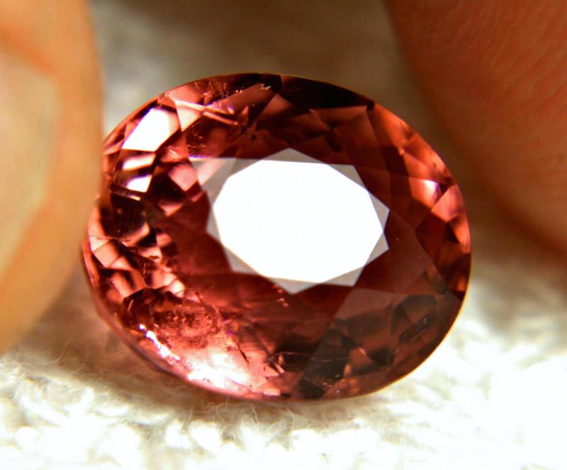 CERTIFIED - 5.86 Carat Rubellite Tourmaline - Gorgeous