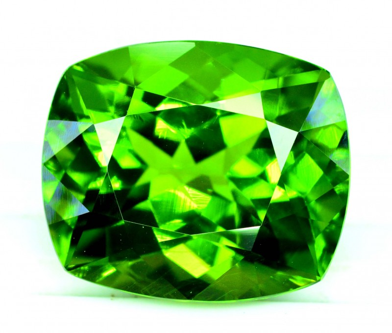 Top Quality Monster Size  35.85 cts Cushion  Cut Natural Olivine Green Natu