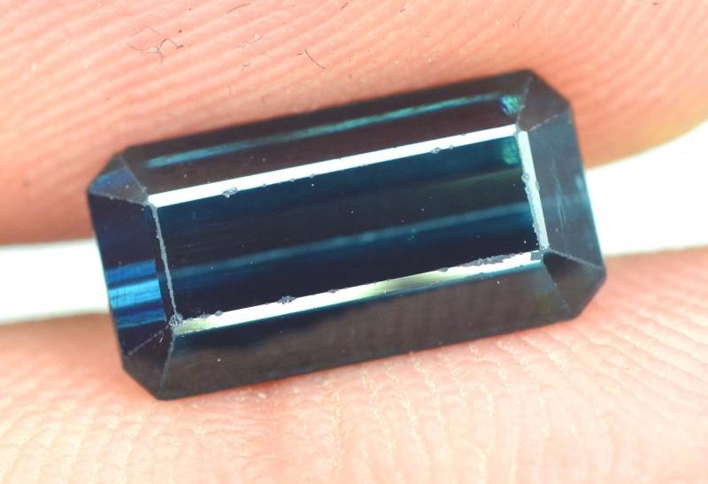2.40 cts Untreated Indicolite Blue Afghan Tourmaline Loose Gemstone