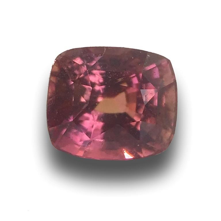 Natural PINKISH ORANGE Sapphire Loose Gemstone New  Sri Lanka