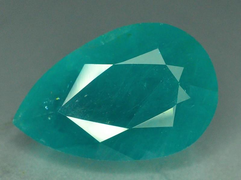 18.25 carats Pear Cut Extremely Rare Untreated Natural Grandidierite Gemsto