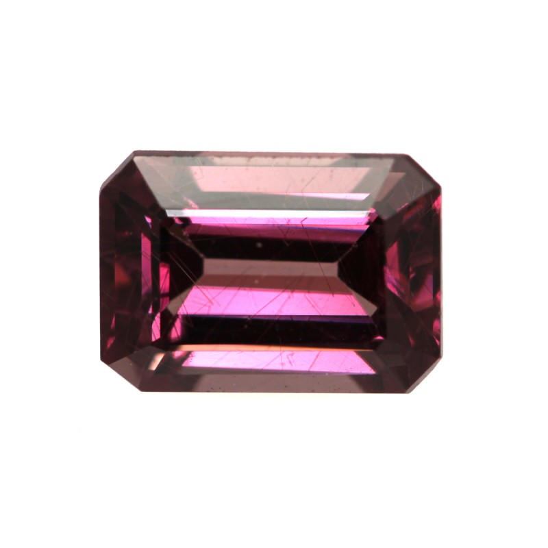 1.43cts Natural Rhodolite Garnet Emerald Cut