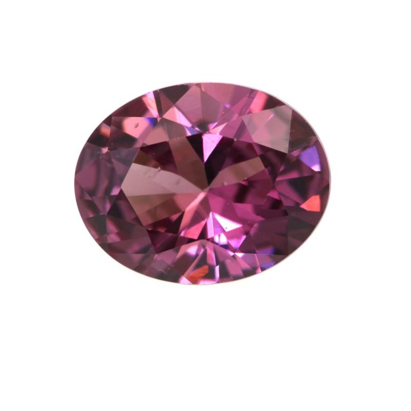 2.04cts Natural Rhodolite Garnet Oval Cut