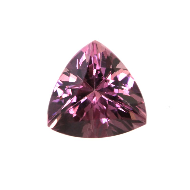 1.09cts Natural Rhodolite Garnet Trillion Cut