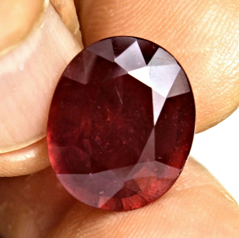 14.07 Carat Fiery Pigeon Blood Ruby - Gorgeous