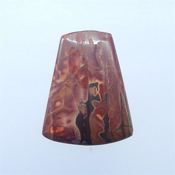 33ct Hot Sale Natural Multi-Color Picasso jasper Cabochon(18052501)