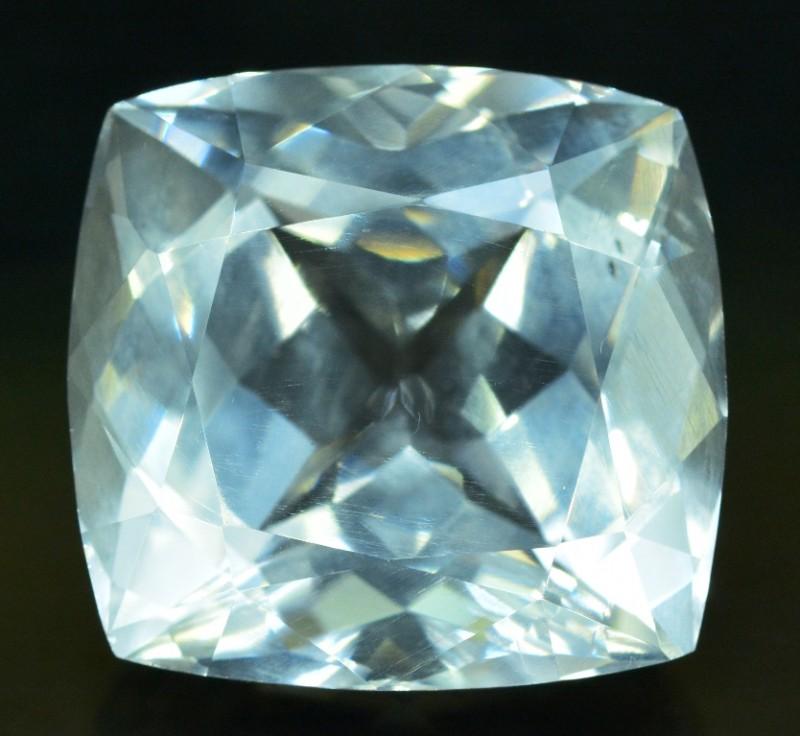 23.65 carats Eye Clean Flawless Natural Rare POLLUCITE Gemstone