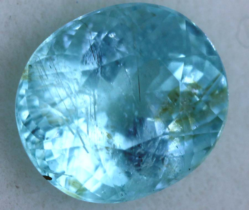 2.5CTS  PARAIBA FACETED GEMSTONE TBM-1248