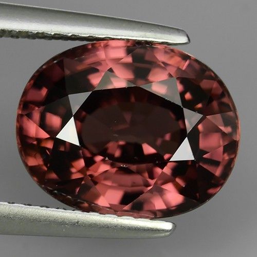 7.27 CTS EXTREMELY FINE LUSTER  NATURAL PINK ZIRCON NR!!!