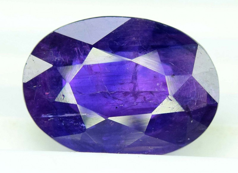 3.36 cts Oval Cut Natural Blue Sapphire Gemstone From Pakistan