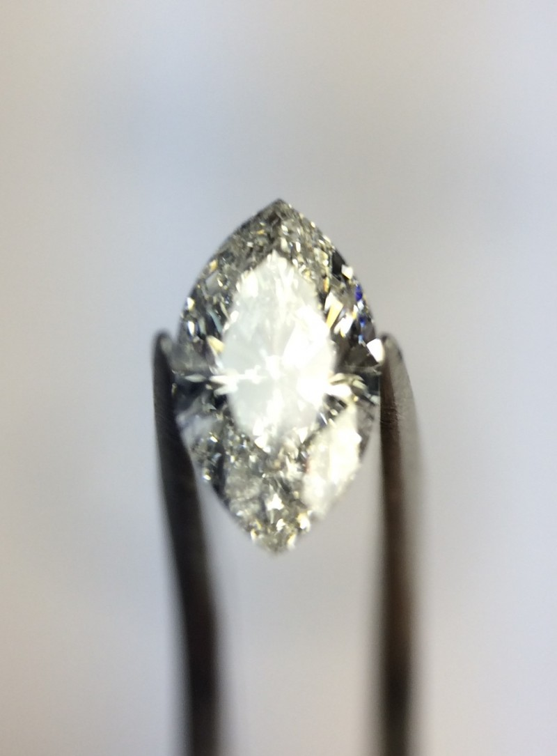 0.53 GIA Certified J I1 Marquise Loose Natural Diamond