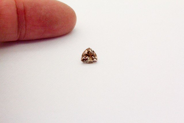 0.980Ct  Zircon Natural Pink Australian