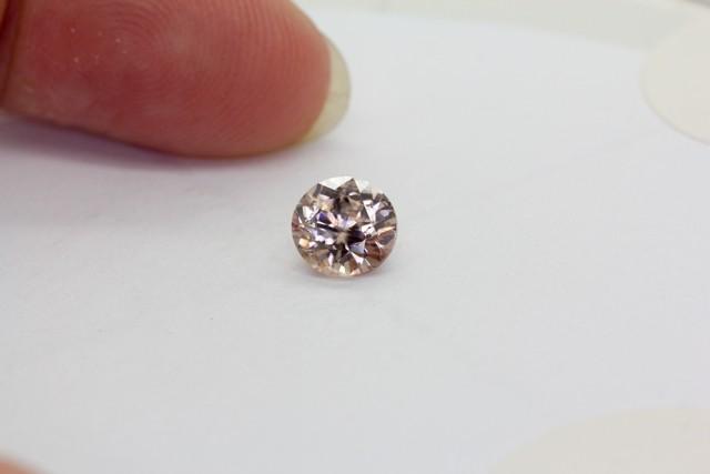 1.720Ct  Zircon Natural Pink Australian