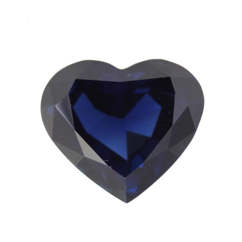 4.96cts Natural Australian Blue Sapphire Heart Shape