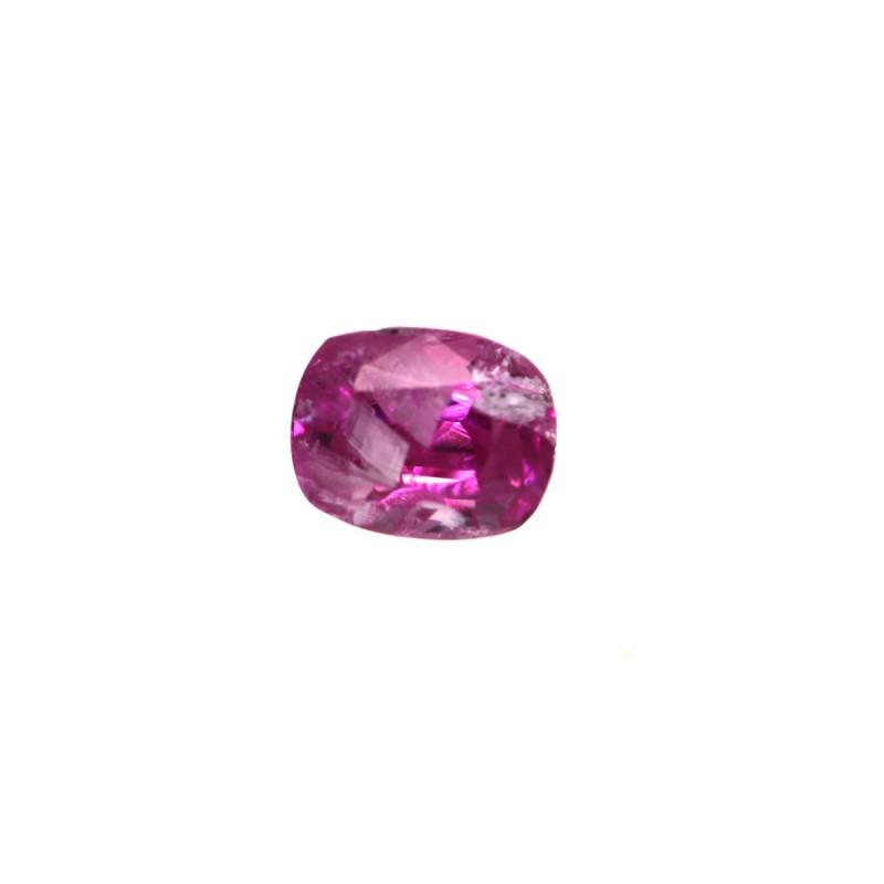 0.45cts Natural Burma Pink Saphhire Oval Cut