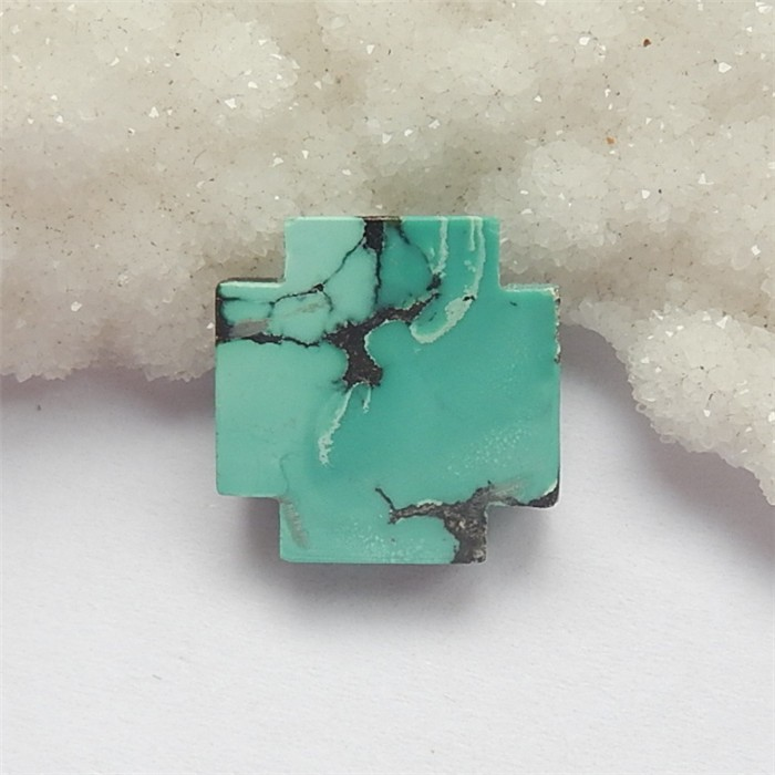 17.5ct On Sale Cross Turquoise Cabochon (18060815)