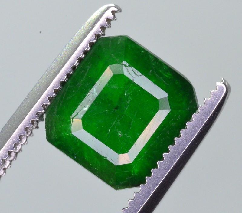 1.85 Ct Brilliant Color Natural Swat Emerald ~ A