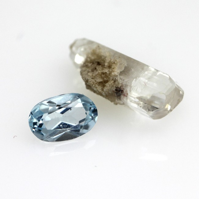 Before and After Blue Topaz Set