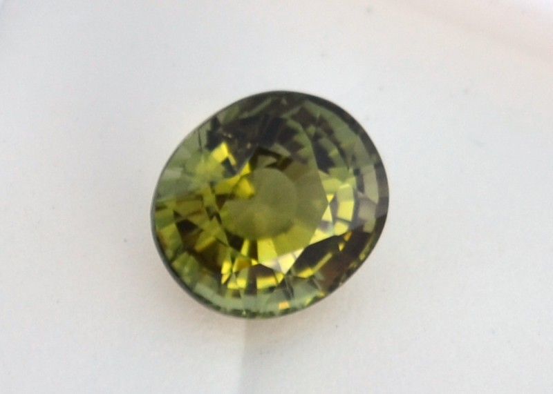 3.10 Carat Very Fine Oval Cut Green Tourmaline