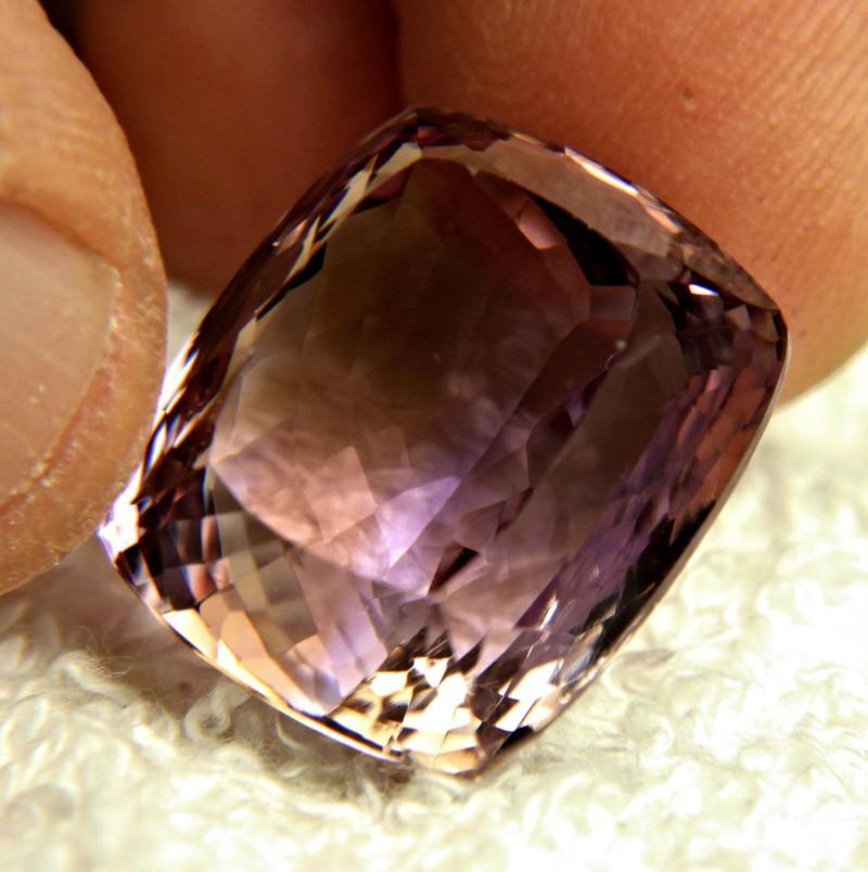37.59 Carat VVS Bolivian Purple Gold Ametrine - Gorgeous