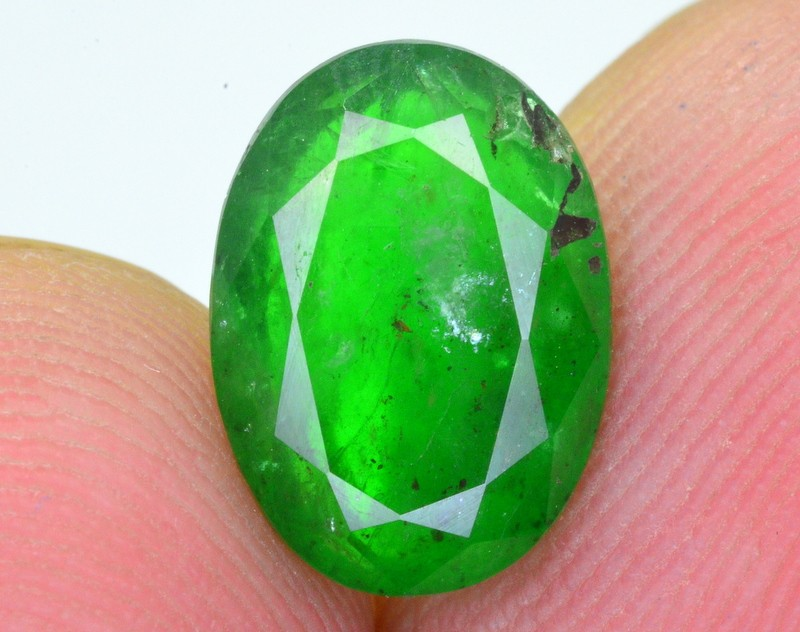 2.85 Ct Top Quality Natural Swat Emerald ~ IA