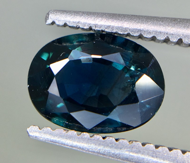 1.07 Crt GIL Certified Unheated Sapphire Faceted Gemstone