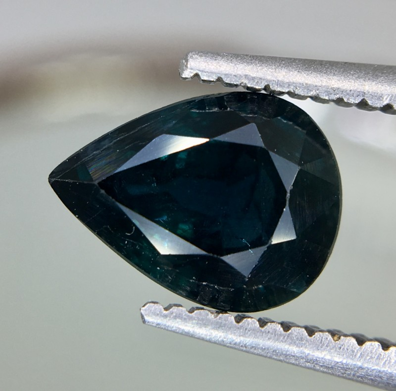 1.69 Crt GIL Certified Unheated Sapphire Faceted Gemstone