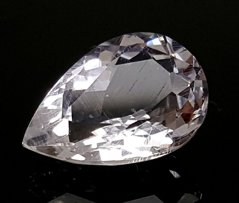 2.4 CT RARE POLLUCITE COLLECTORS GEMS IGCRPOL24