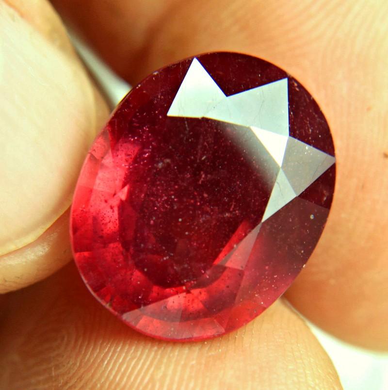 19.88 Carat Fiery Pigeon Blood Ruby - Superb