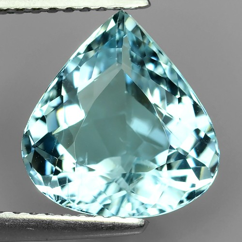 2.90-CTS SUBLIME ELONGATED PEAR CUT NATURAL BLUE AQUAMARINE