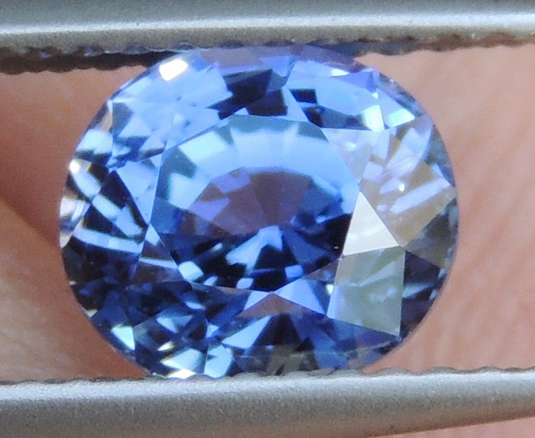 2.02cts,  Sapphire,  Pure Blue,  Heat Only,  Clean