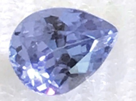 Pretty Blue Pear Shape Blue Tanzanite - 41 G21