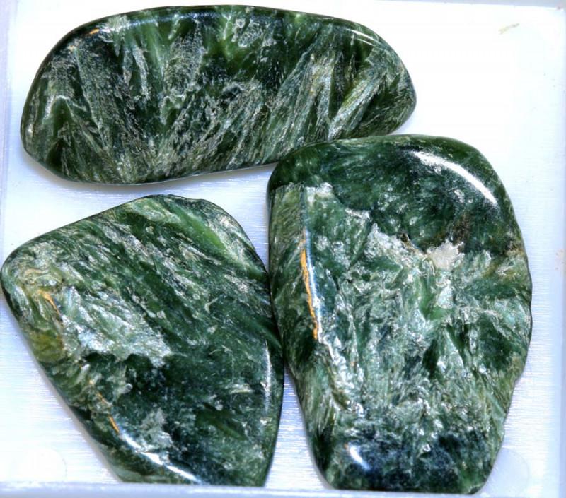 60CTS GREEN SERAPHINITE PARCEL ADG-377