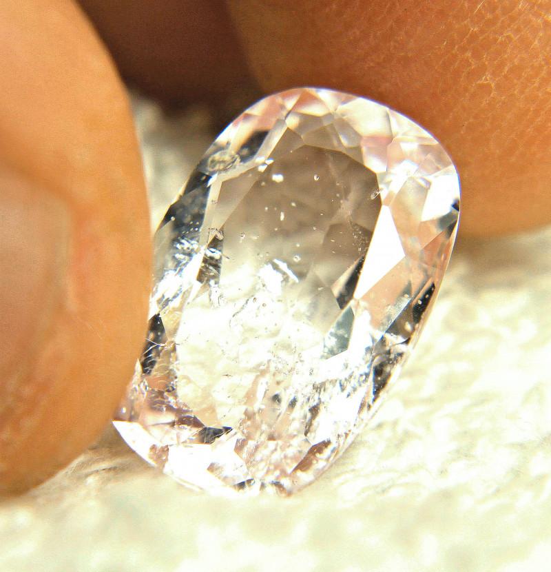 6.25 Carat Brazil Fancy SI Morganite - Gorgeous
