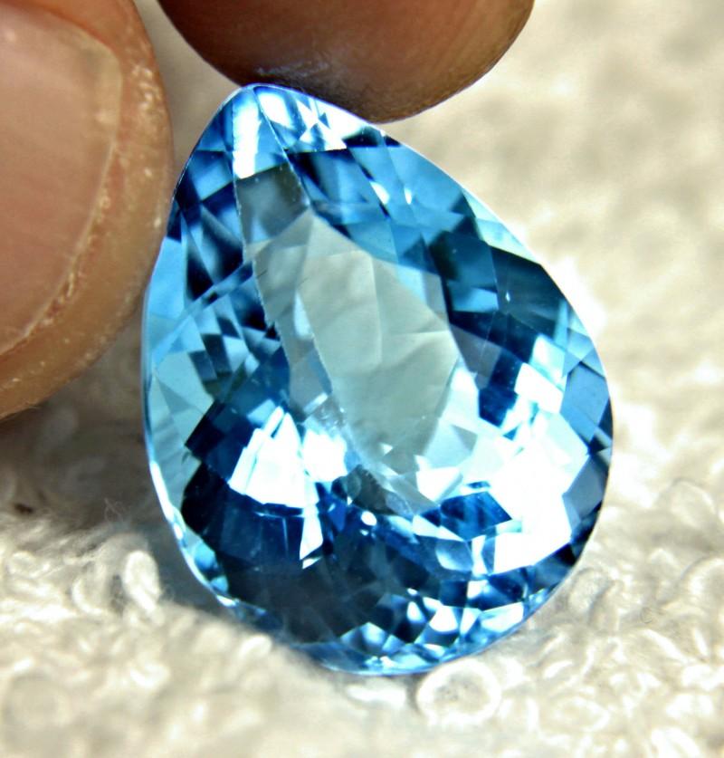 24.83 Carat Brazil Blue VVS Topaz - Gorgeous