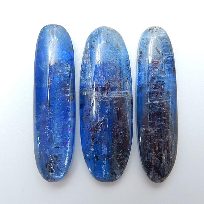 60ct Beautiful Natural Blue Kyanite Gemstone Cabochon (18071113)
