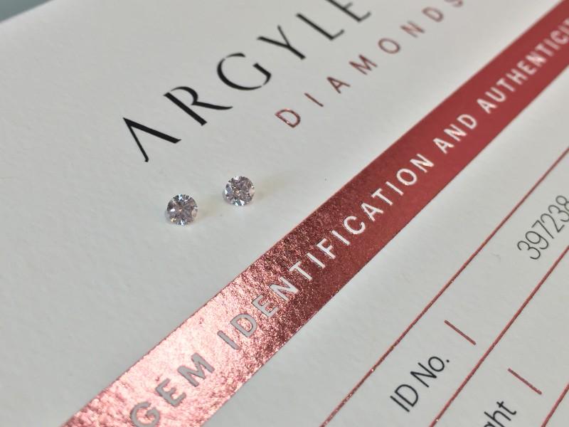 2 = 0.20ct NCP SIAV Certified Argyle Pink Diamondd