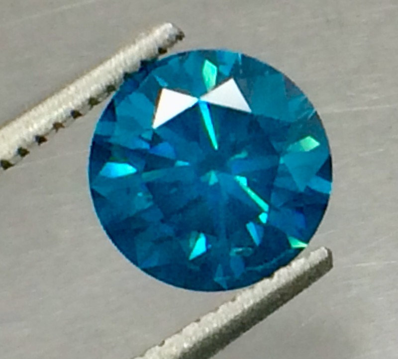 1.53 Crt Natural Blue Daimond Fire Luster D27