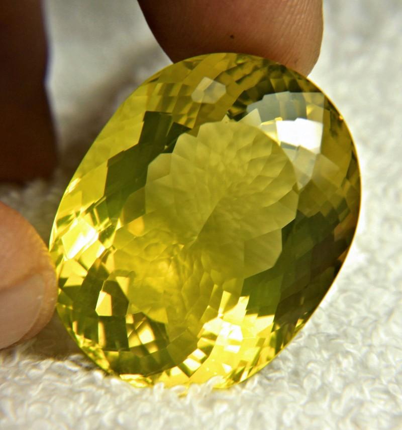 90.82 Carat VVS1 Natural African Lemon Quartz - Superb