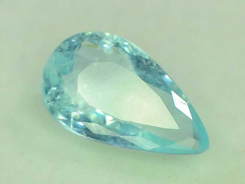 Gil Certified 3.07 ct Top Grade Blue Paraiba Tourmaline