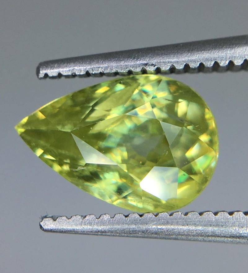 1.80 Crt  Natural Sphene Faceted Gemstone